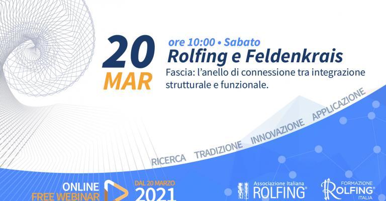 Rolfing E Feldenkrais - Incontro Live su Facebook